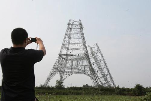 河北晋州电视塔倒塌事故8名涉案人被公诉