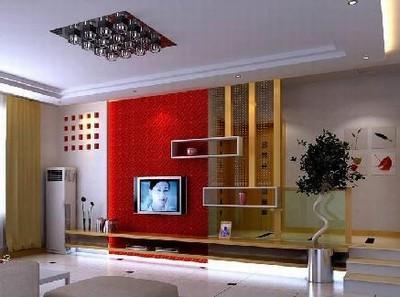 最新火热出炉的电视背景墙设计图[组图]