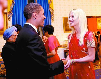 蹭白宫国宴夫妇晒照片犯了天条 奥巴马要求彻查 - Saintkingstar-圣清辰 - 占星楼