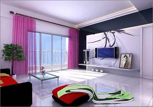 12款日式客厅装修效果图