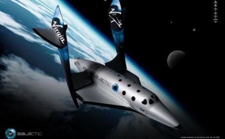旅游宇宙飞船将试航 花20万美元可进太空几分钟