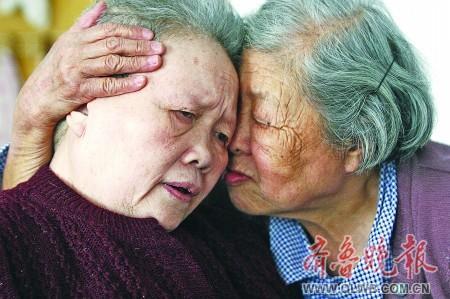 老人写色妺妹_七旬老人为照顾患病妹妹终身未嫁[组图]