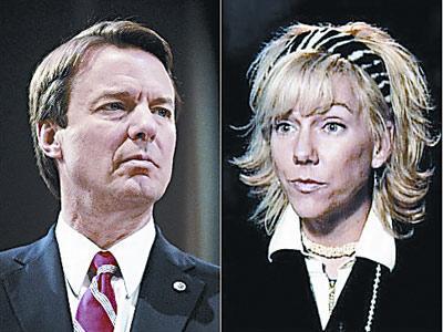 美国民主党前总统竞选人约翰・爱德华兹自婚外情丑