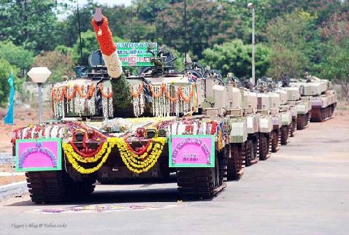"""印度军工称""""阿琼""""性能超过T-90 军方可能增购"""