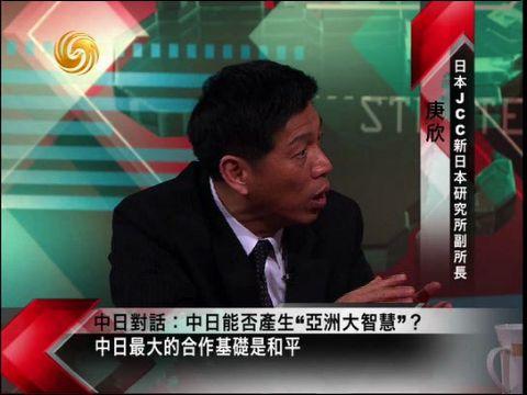庚欣:中日需承担地区和平责任 可学习法德