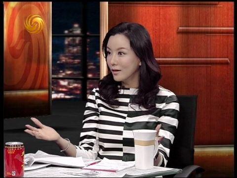 2013-04-12锵锵三人行 彭丹:希望通过自己作品展现中国主流价值观