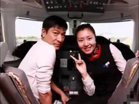 刘德华奢华私人飞机曝光