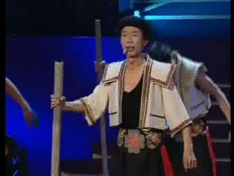 土家族组合表演歌舞《石工号子》