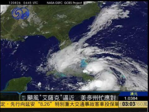 飓风结构示意图
