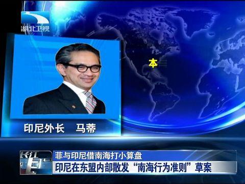 专家称菲律宾与印尼欲将南海争端国际化