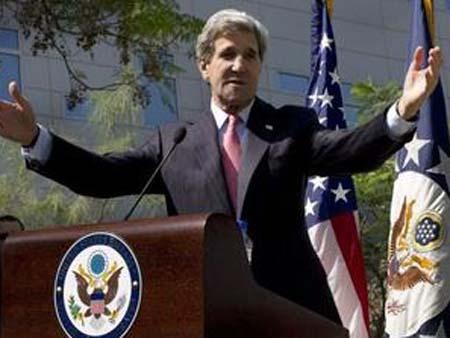 """2013-04-21新闻今日谈 杜平:维护""""美欧关系""""是克里主要外交目标"""
