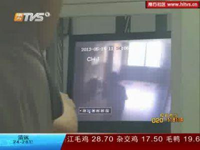 电梯里被瞄准的护士