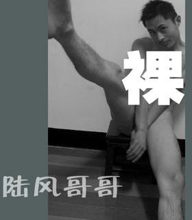 网络红人陆风哥哥要用裸体视频向李湘求婚/图