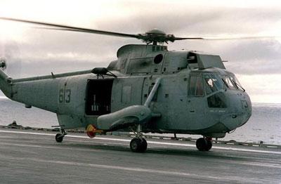 美国海军sh-3海王舰载直升机退出现役(图)