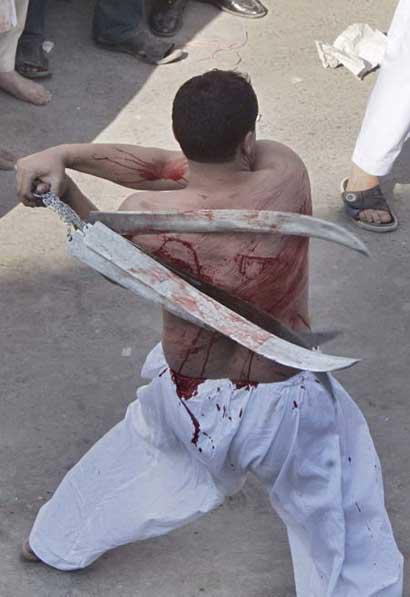 穆斯林鞭打自己表纪念