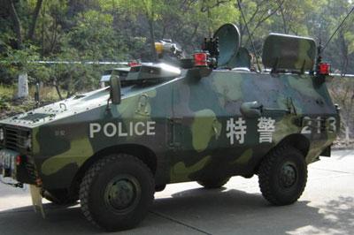 """""""新星""""装甲车可装备中国特警部"""