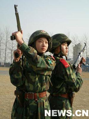 中国女子特警队打造新型反恐特战部队图片