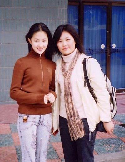 刘亦菲素颜生活照曝光