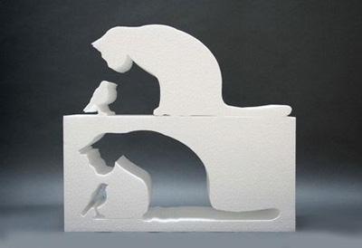 创意镂空家具 拼出动物的灵性