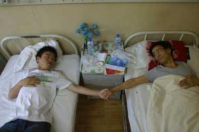 16岁男孩尽孝道要捐肾救父图片