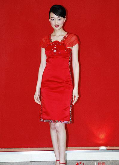 奢侈的中国式婚礼服让新娘更美丽图片
