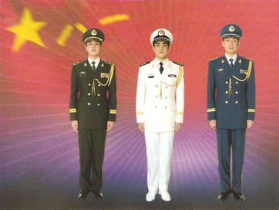 解放军07式军服设计师详解新军服标志服饰