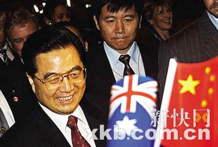 布什称与胡锦涛之间关系温暖而诚挚