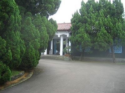 走近蒋介石在台湾的陵墓