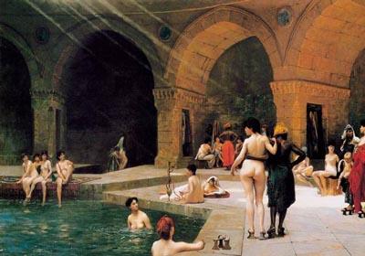古罗马公共浴室极豪华可媲美现代健身房