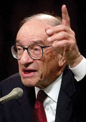 格林斯潘回忆录猛批布什经济政策
