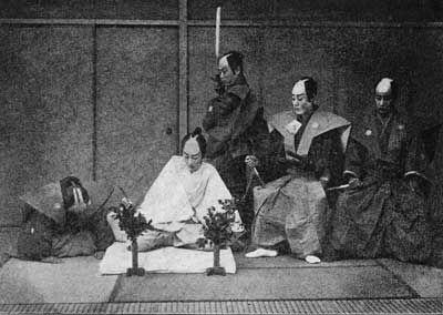 古代日本武士切腹文化解密(组图)