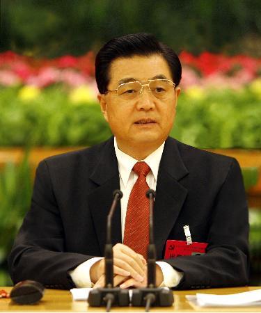 中央政治局主持会议中央委员会总书记胡锦涛作重要讲话