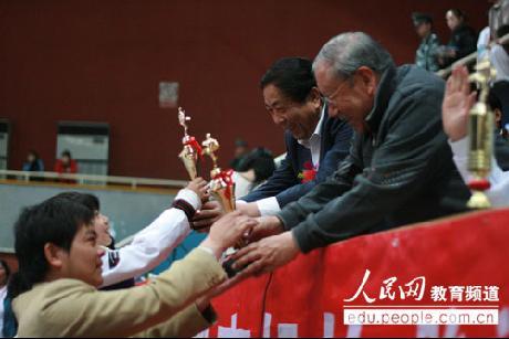 首届中小学生跆拳道比赛成功举办