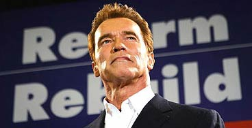 美国巨星艺%�_前好莱坞巨星,美国加州州长施瓦辛格