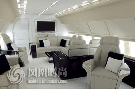 完成第二个顶级私人飞机内部项目的设计与制造.