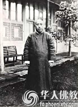 进入20世纪初处于封建社会末期的中国佛教界发生了化腐朽...