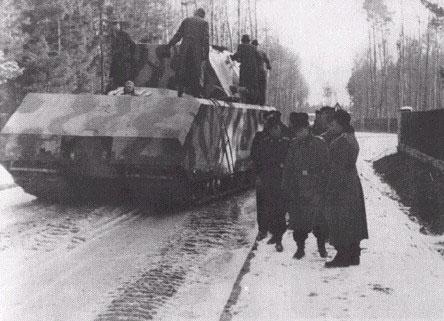 """测试中的""""鼠""""式坦克; 关于鼠式坦克; 二战德军的堡垒重坦克:八号鼠式"""