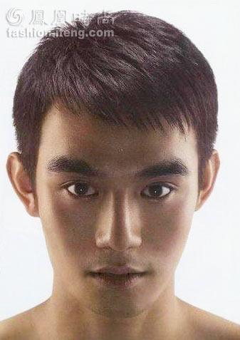 2008职男标准短发(组图)图片
