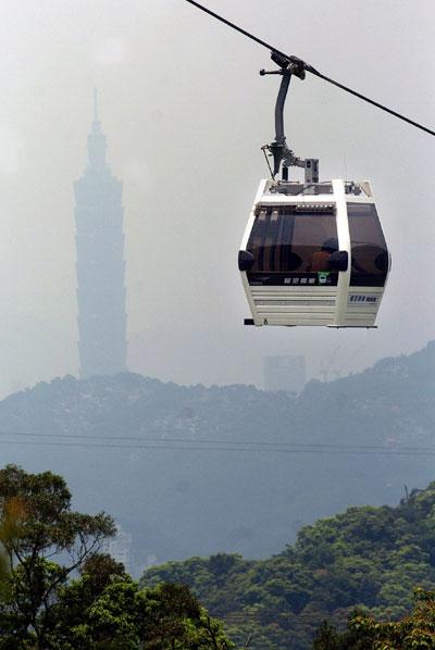 缆车,于2007年7月4日启用,路线由台北市文山区的台北市立动物园西侧至