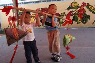 台北儿童过端午节