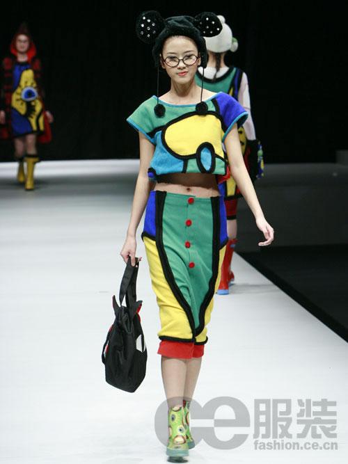 北京服装学院08届毕业生设计作品展示(7)