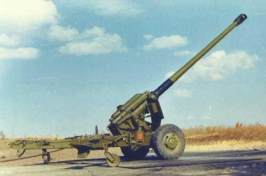 59式130毫米加农炮,也是解放军多年以来的当家火炮.