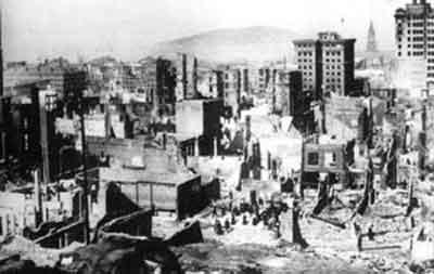 旧金山1906年地震