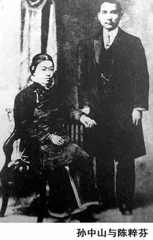 1915年,孙中山为娶宋庆龄,与卢慕贞协议离婚.