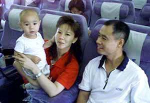 陈永妍/李宁和妻子儿子