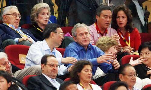 """外国元首""""疯狂""""奥运[组图] - fdycq - 费家村----老费的三角梅花园"""