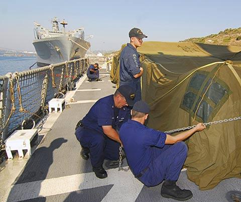 海军水兵卡通qq头像