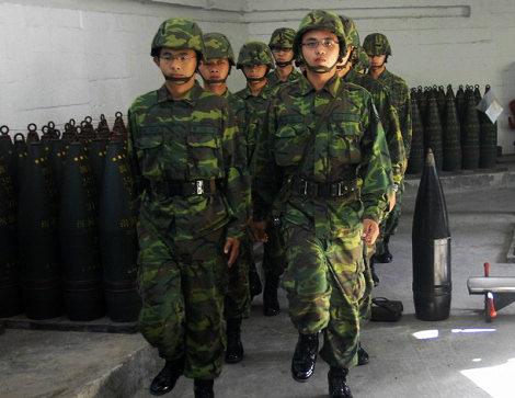媒称台大裁军后退伍军人可能投奔解放军