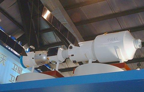 """中国 酒泉/中国载人航天第二阶段第二步,计划在2015/2030年发射""""天宫2号..."""
