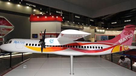 国产新一代涡桨支线飞机新舟700的研制工作已于日前启动,并计划于2014